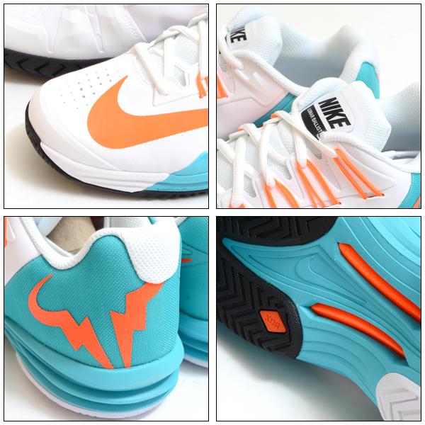 只现货!! 网球鞋耐克NIKE人月神巴厘杆全部法院网球运动鞋鞋LUNAR BALLISTEC