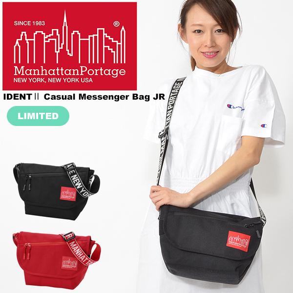 送料無料 数量限定 メッセンジャー バッグ Manhattan Portage マンハッタンポーテージ メンズ レディース IDENTII Casual Messenger Bag JR 9L ショルダーバッグ MP1605JRIDT 2019春新作
