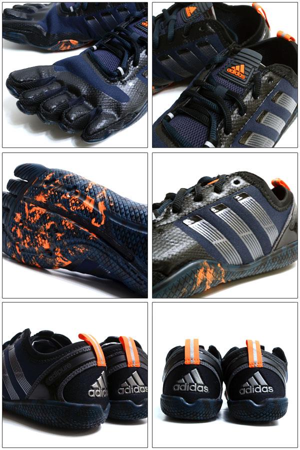 训练鞋阿迪达斯adidas阿迪纯的比赛教导员1.1 5部手指鞋人体育健身房G95482