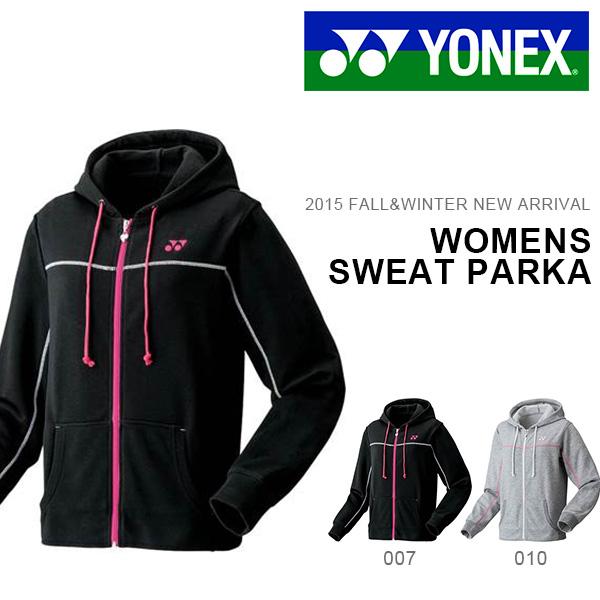 运动衫Parker尤尼克斯YONEX女士运动衫Parker教导员茄克运动服饰体操服网球羽毛球39000