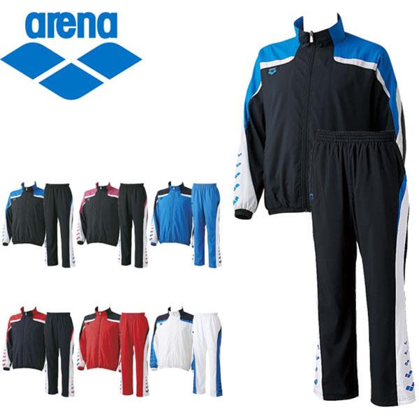 送料無料 ウインドブレーカー 上下セット アリーナ arena ウィンドジャケット ロングパンツ メンズ レディース ナイロン スポーツウェア 水泳 スイミング トレーニング ウェア ARN-6310 ARN-6311P
