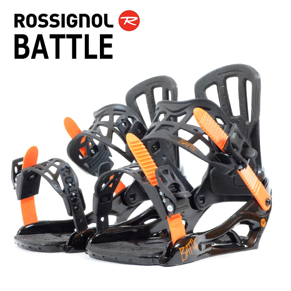 送料無料 ROSSIGNOL ロシニョール バインディング ビンディング BATTLE RGG0012 メンズ バイン スノーボード スノボ 国内正規代理店品 得割37