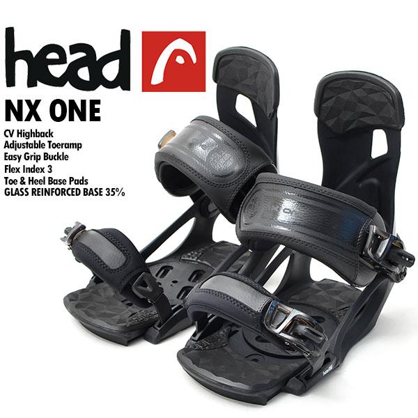 送料無料 head ヘッド スノーボード バインディング ビンディング NX one black 341326 メンズ 紳士 バイン スノボ 国内正規代理店品 得割40