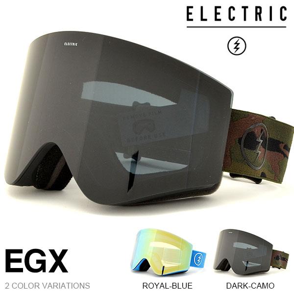 送料無料 スノーゴーグル ELECTRIC エレクトリック EGX イージーエックス アジアンフィット 日本正規品 メンズ レディース ユニセックス スノボ スノー ボード 平面レンズ 得割35