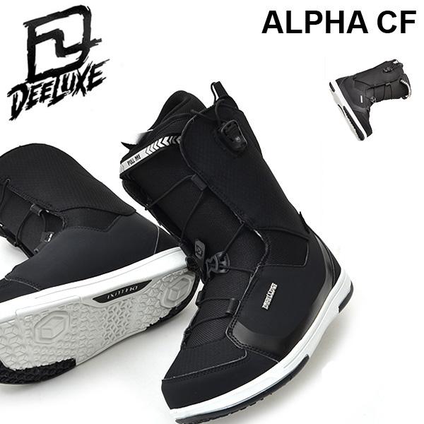 送料無料 ディーラックス DEELUXE スノーボード ブーツ ALPHA CF メンズ レディース アルファ スノボ ノーマルインナー SNOWBOARD 得割40
