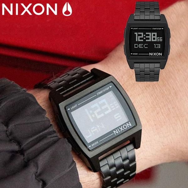 送料無料 ニクソン NIXON ベース BASE 日本正規品 腕時計 リストウォッチ メンズ レディース ゴールド シルバー スケートボード サーフ アウトドア ウォッチ