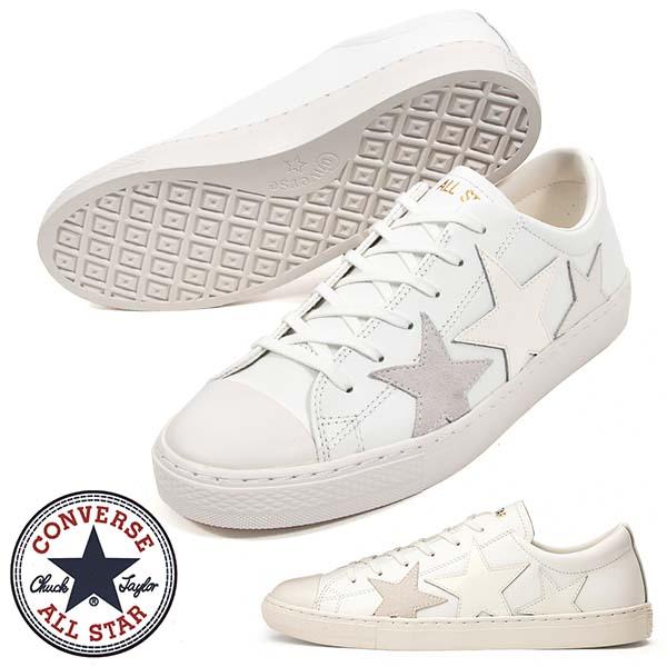 スニーカー コンバース CONVERSE メンズ レザー オールスター 送料無料 クップ トリオスター OX 格安SALEスタート シューズ 2021春新作 COUPE ホワイト白 あす楽対応 ローカット 革 お気にいる レザーシューズ STAR ALL TRIOSTAR 靴