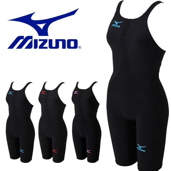 送料無料 FINA承認ラベル付 ミズノ MIZUNO ハーフスーツ MX-SONIC02 レディース 競泳水着 スイムウェア 水泳 プール スイミング 競泳
