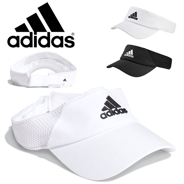 アディダス adidas メンズ レディース サンバイザー 帽子 アディダス サンバイザー adidas メンズ レディース VISOR AERO RDY キャップ CAP 帽子 ロゴ スポーツ ゴルフ テニス ランニング ジョギング トレーニング 2021春新作 得割20 25643
