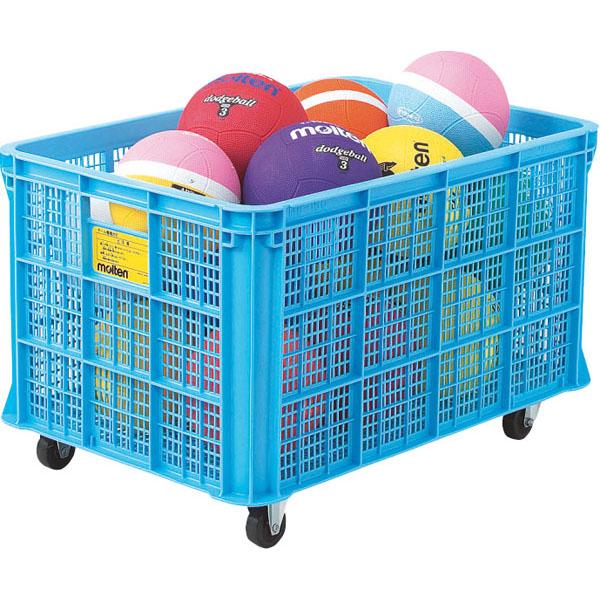 送料無料 モルテン ボール整理カゴ屋内用 MRT-BKPIN ○