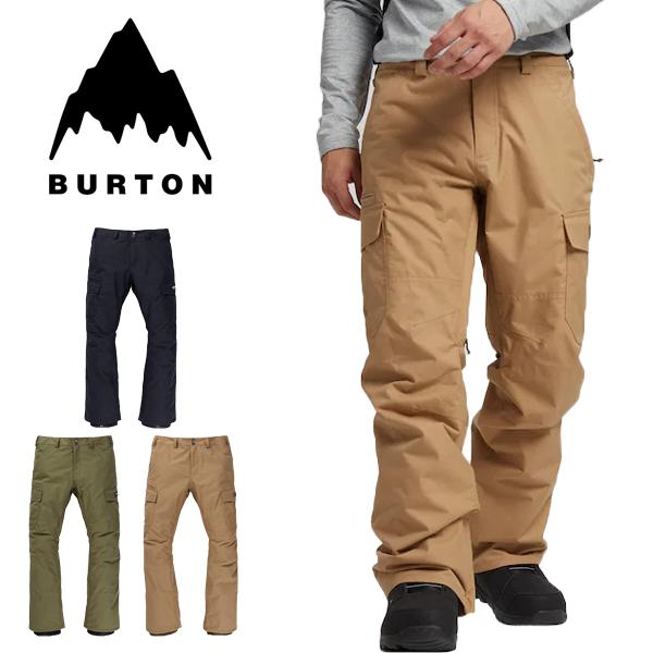 送料無料 スノーボードウェア バートン BURTON Cargo Pant Regular Fit メンズ カーゴパンツ レギュラー スノボ スノーボード スノーボードウエア SNOWBOARD WEAR スキー 2019-2020冬新作 19-20 19/20