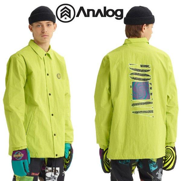 送料無料 コーチジャケット アナログ Analog Sparkwave Jacket Coaches Jacket メンズ ジャケット コーチ スノボ スノーボード スノーボードウエア スキー 2019-2020冬新作 19-20 19/20 20%off