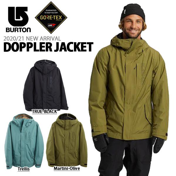 送料無料 スノーボードウェア バートン BURTON Doppler Jacket メンズ ジャケット GORE-TEX ゴアテックス スノボ スノーボード スノーボードウエア SNOWBOARD WEAR 20%off