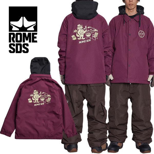 送料無料 スノーボードウェア ROME SDS ローム DRIFTER JACKET ドリフタージャケット ブラック 黒 メンズ ジャケット スノボ スノーボード スノーウェア シャツ コーチ 20%off