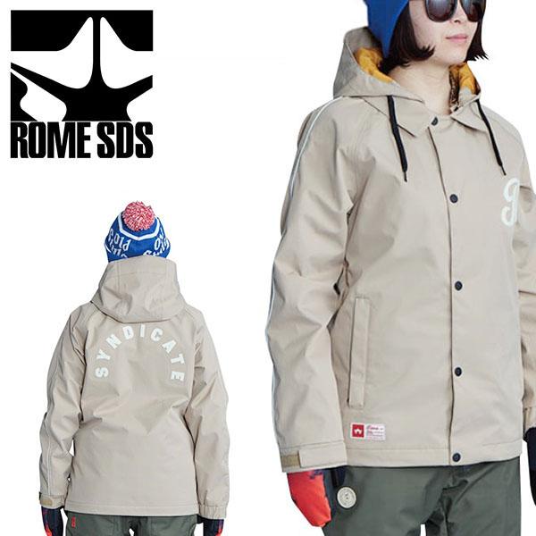送料無料 スノーボードウェア ROME SDS ローム レディース WOMENS PRIME JACKET プライムジャケット BEIGE 肌色 スノボウェア スノーウエア スノーボード スノボ スキー ウェア 20%off