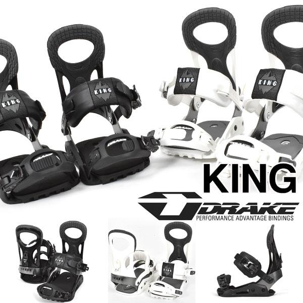送料無料 DRAKE ドレイク バインディング KING キング メンズ スノーボード BINDING ビンディング 20%off
