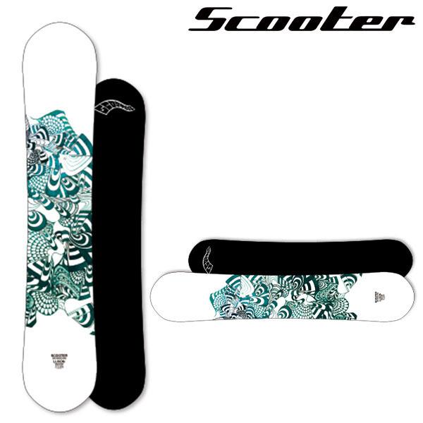 送料無料 スノーボード 板 Scooter スクーター LUXON メンズ パーク ハーフパイプ スノーボード キャンバー 153 19/19 20%off