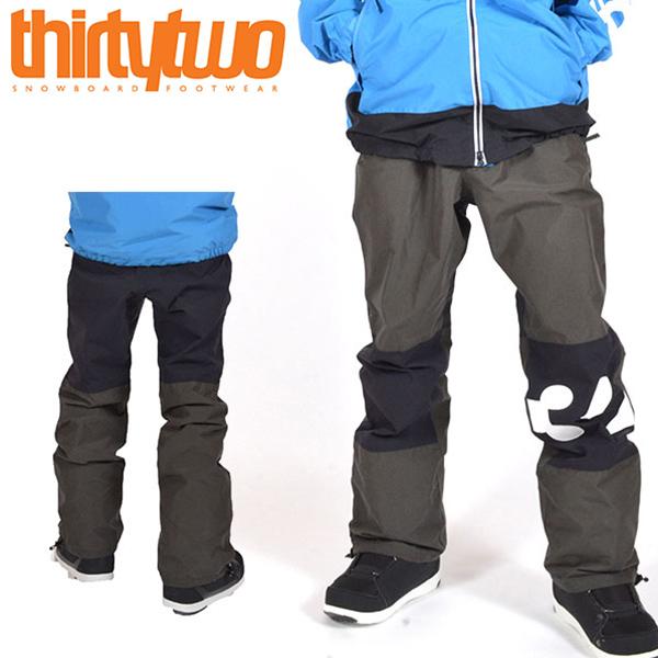 送料無料 スノーボードウェア ThirtyTwo 32 サーティー トゥー SWEEPER PANTS メンズ パンツ スノボ スノーボード ボトムス メンズ サーティーツー 得割20