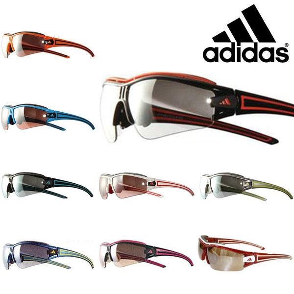 送料無料 スポーツサングラス アディダス adidas メンズ a167 EVIL-E HRM PRO L ランニング マラソン ゴルフ 釣り 自転車 テニス サイクリング 紫外線対策 UVカット