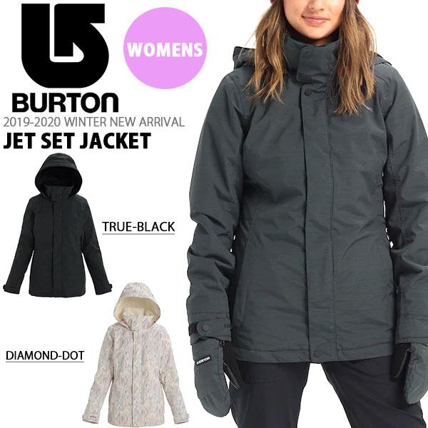 送料無料 スノーボードウェア バートン BURTON Women's Jet Set Jacket レディース ジャケット スノボ スノーボード スノーボードウエア SNOWBOARD WEAR 2018-2019冬新作 18-19 18/19 10%off