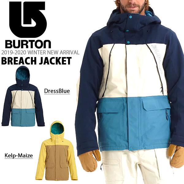 送料無料 スノーボードウェア バートン BURTON Breach Jacket メンズ ジャケット スノボ スノーボード スノーボードウエア SNOWBOARD WEAR 101801 20%off