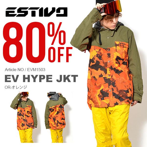 半額!! 送料無料 スノーボードウェア エスティボ ESTIVO EV HYPE JKT メンズ ジャケット スノボ スノーボード スノーボードウエア SNOWBOARD WEAR スキー 70%off, 萬福商店:d3baab59 --- msm-japan.jp