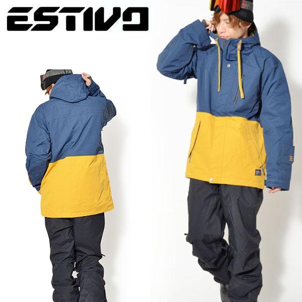 半額!! 送料無料 スノーボードウェア エスティボ ESTIVO EV DEEP WOODS JKT メンズ ジャケット スノボ スノーボード スノーボードウエア SNOWBOARD WEAR スキー 50%off