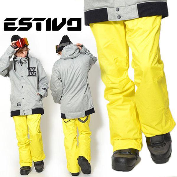 半額!! 送料無料 スノーボードウェア エスティボ ESTIVO EV PLUSH PNT メンズ パンツ スタンダードフィット スノボ スノーボード スノーボードウエア SNOWBOARD WEAR スキー 50%off