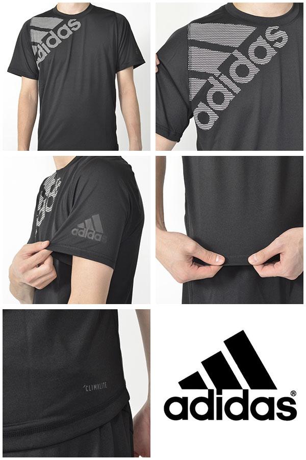 30%OFF半袖TシャツアディダスadidasM4TフリーリフトビッグロゴTシャツメンズスポーツウェアランニングジョギングトレーニングウェアジム2019夏新色FSF86【あす楽対応】