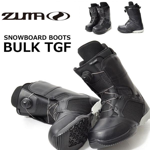 送料無料 初心者 エントリーモデル ZUMA ツマ スノーボード ブーツ スノボ BULK TGF ダイヤル式 メンズ レディース スノー ブーツ2017-2018冬新作 17-18