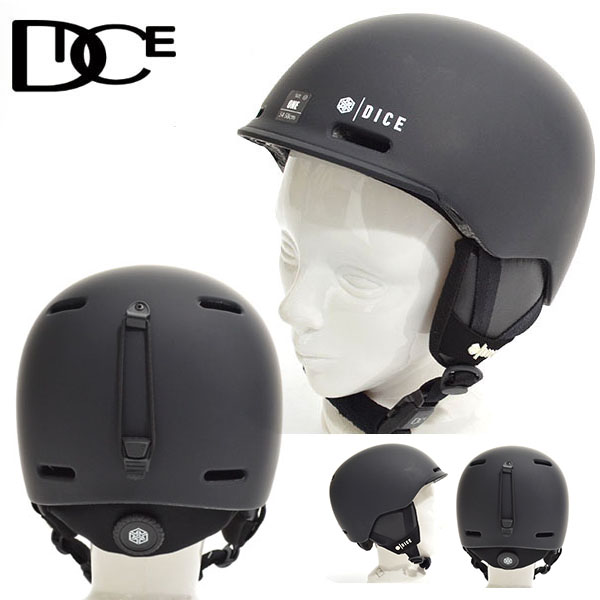 送料無料 ヘルメット DICE ダイス D6 SNOW HELMET メンズ スノボ スノー フリースタイル ヘルメット ギア 日本正規品 紳士 20%off