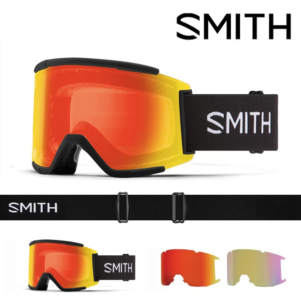 送料無料 スノーゴーグル SMITH OPTICS スミス SQUAD XL スカッド エックスエル クロマポップ レンズ スノボ スノーボード スキー スノー ゴーグル ギア日本正規品 20%off スペアレンズ ボーナスレンズ