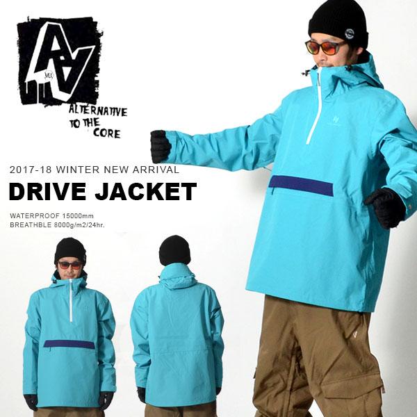 送料無料 スノーボードウェア DRIVE JACKET ダブルエー ハードウェア AA HARDWEAR メンズ ジャケット スノボ スノーボード スノーウェア 50%off 半額