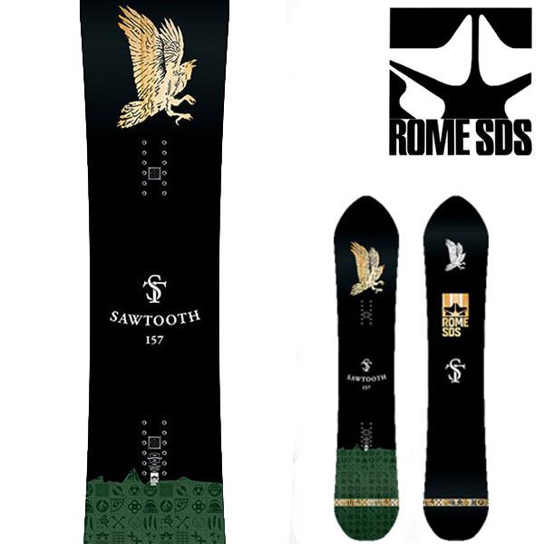 送料無料 スノー ボード 板 ROME SDS ローム SAWTOOTH メンズ スノーボード スノボ 紳士用 キャンバー フリーラン パーク 153 40%off