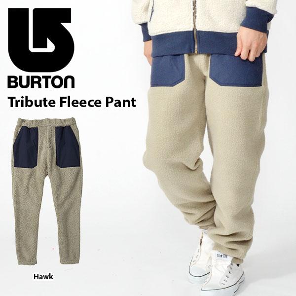 送料無料 スウェットパンツ バートン BURTON Tribute Fleece Pant メンズ スウェット パンツ スエット ボトムス スノボ スノーボード スキー 2018-2019冬新作 18-19 18/19 10%off