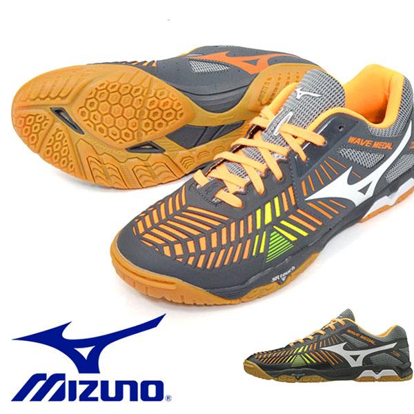 送料無料 卓球シューズ ミズノ MIZUNO ウエーブメダル WAVE MEDAL Z2 メンズ レディース 卓球 シューズ 靴 クラブ 部活 試合 練習 81GA1910 得割20