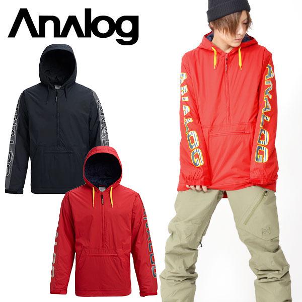 送料無料 スノーボードウェア アナログ Analog CHAINLINK ANORAK メンズ ジャケット アノラック スノボ スノーボード スノーボードウエア スキー 2018-2019冬新作 18-19 20%off