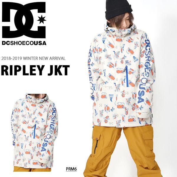 送料無料 スノーウェア ディーシー DC SHOE メンズ ジャケット RIPLEY JKT スノーボードウェア スノーボード スノボ スキー スノー edytj03072 2018-2019冬新作 18-19 18/19 20%off