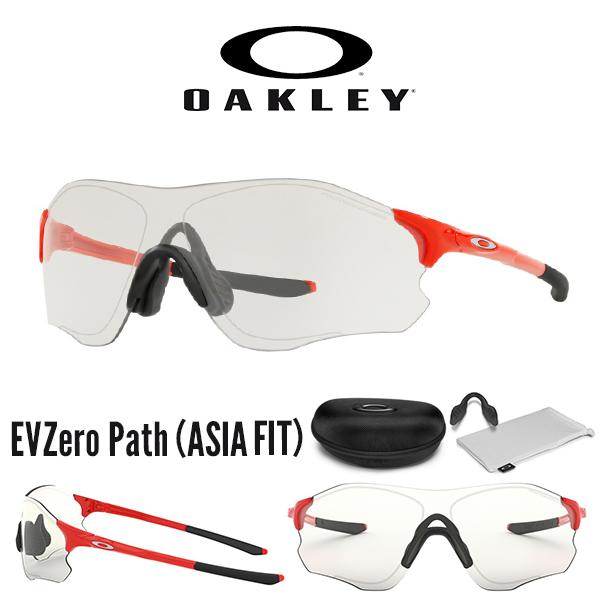 送料無料 サングラス OAKLEY オークリー EVZero Path イーブイゼロ パス Slate Iridium 眼鏡 アイウェア 日本正規品 ランニング マラソン サイクリング スポーツ oo9313 1938