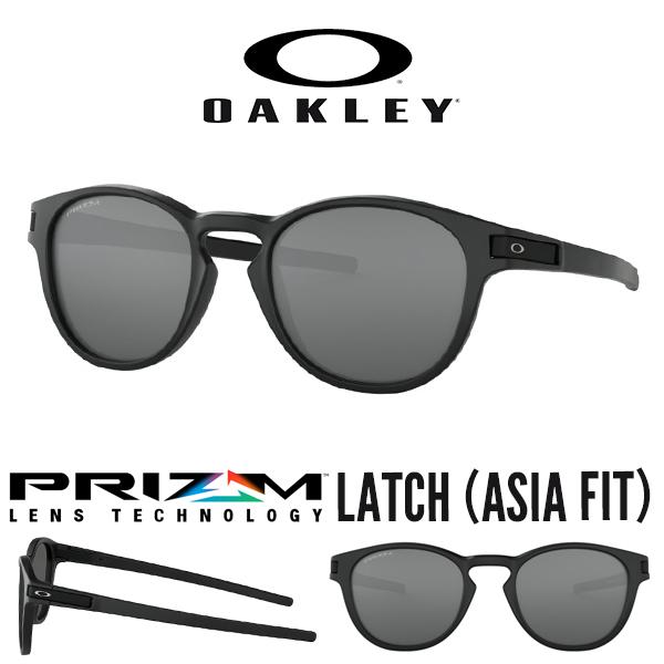 送料無料 サングラス OAKLEY オークリー LATCH ラッチ Prizm Black 日本正規品 アジアンフィット 眼鏡 アイウェア oo9349 1153