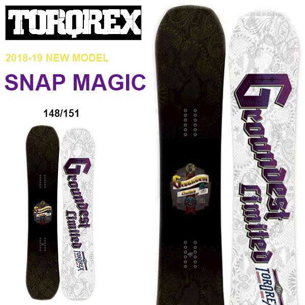 送料無料 TORQREX トルクレックス ボード SNAP MAGIC スナップマジック 板 スノーボード メンズ 紳士スノーボード ダブルキャンバー 148 151 30%off