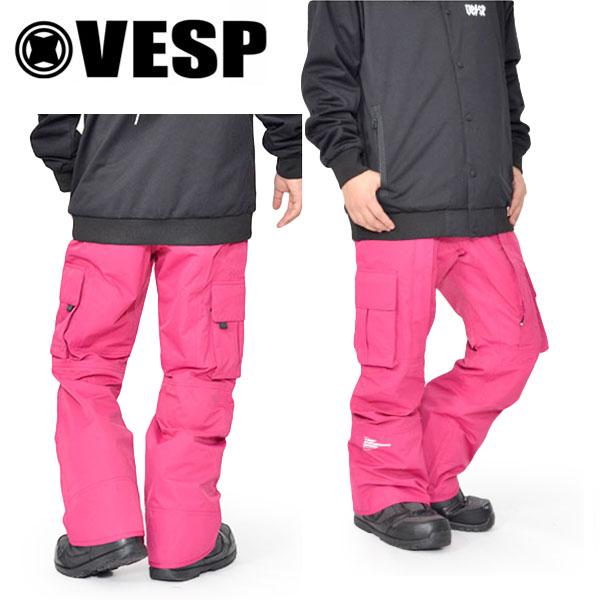 送料無料 スノーボードウェア VESP ベスプ DIGGERS LIGHT STANDARD CARGO PANTS VPMP18-07 パンツ スノボ スノーボード ボトムス メンズ レディース ユニセックス18/19 20%off