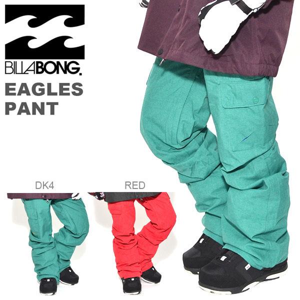 送料無料 スノーボード ウェア ビラボン BILLABONG レディース EAGLES PANT スノー パンツ スノーウェア スノボ スキー ウエア 60%off 【あす楽対応】