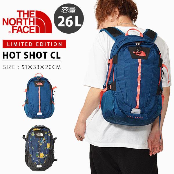 追加企画 限定カラー 送料無料 ザ・ノースフェイス THE NORTH FACE ホットショット Hot Shot CL 26リットル バックパック デイパック リュックサック 2019夏新色 nm71862 バッグ ザック アウトドア