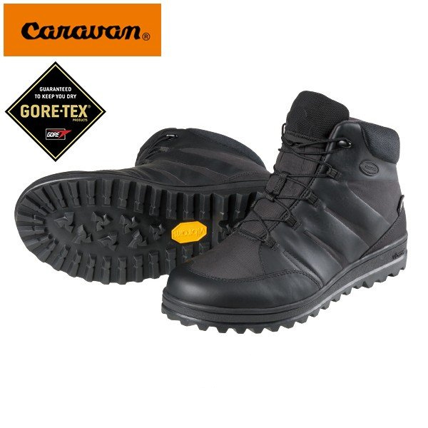 GORE-TEX スノーシューズ Caravan キャラバン SHC_33 メンズ アウトドアシューズ ビブラムソール 登山 スノー アウトドア シューズ 靴 0023033 ゴアテックス