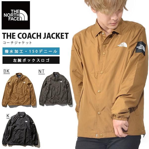 お1人様1点限り 送料無料 コーチジャケット THE NORTH FACE ザ・ノースフェイス The Coach Jacket メンズ np71930 スクエアロゴ ナイロンジャケット