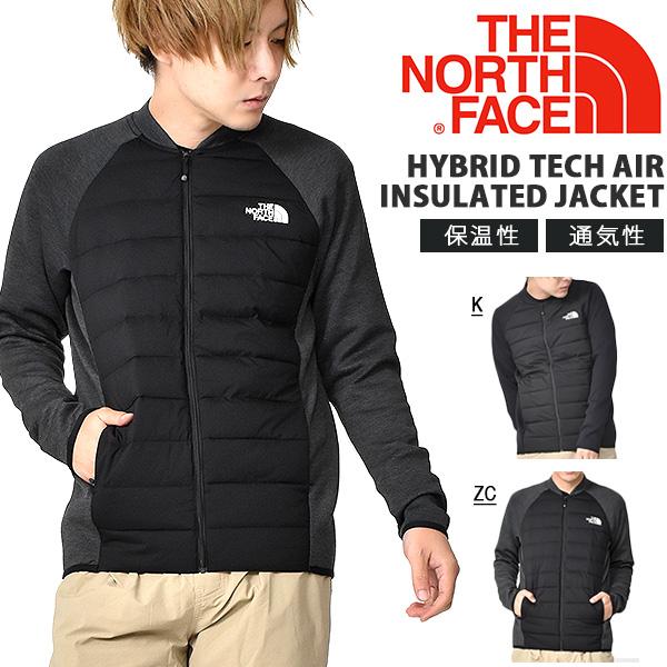 最終セール 25%off 送料無料 異素材 中綿 ジャケット THE NORTH FACE ザ・ノースフェイス Hybrid Tech Air Insulated Jacket ハイブリッド テックエアー インサレーテッド ジャケット メンズ ナイロンジャケット マウンテン ny81977