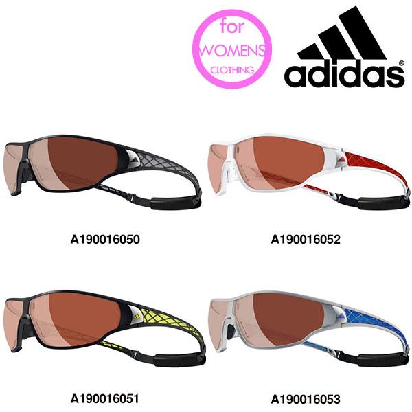 送料無料 スポーツサングラス アディダス adidas レディース a190 TYCANE PRO S ランニング マラソン ゴルフ 釣り 自転車 テニス サイクリング 陸上 紫外線対策 UVカット 得割30