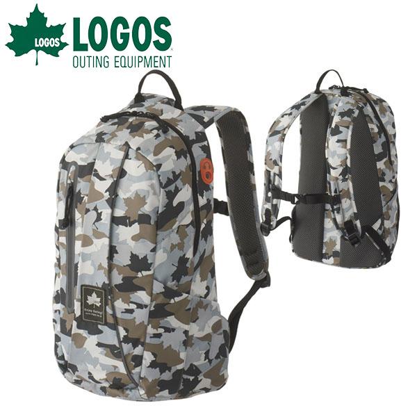 送料無料 ロゴス LOGOS バックパック メンズ レディース CADVEL-Design17 カモフラ 17L 超軽量 リュックサック デイパック アウトドア レジャー ウォーキング スポーツ 通学 バッグ カバン かばん 鞄 88250146