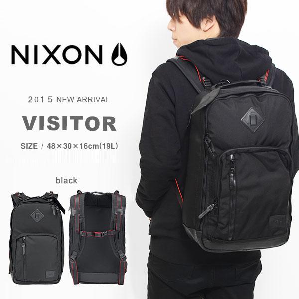 かばん スケートボード BAG 得割50 VISITOR ニクソン ビジター 現品限り リュックサック バックパック 鞄 半額 カバン NIXON バッグ メンズ レディース 送料無料 デイパック BACKPACK